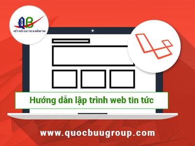 Hướng dẫn lập trình website tin tức đơn giản với PHP Laravel Framework