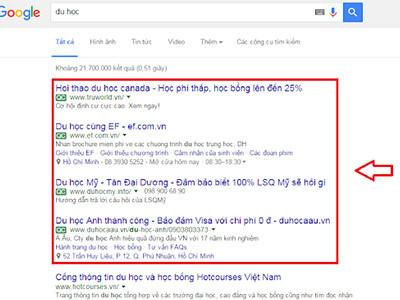 Dịch vụ viết bài quảng cáo đưa sản phẩm dịch vụ lên top google