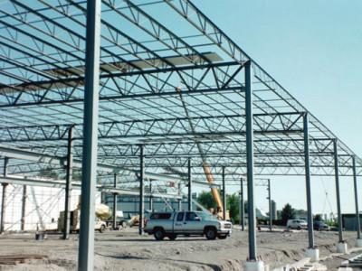 Lắp đặt, sửa chữa, thi công khung sắt thép nhà xưởng qui mô nhỏ tại Tphcm
