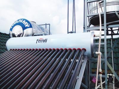 Dịch vụ thợ sửa máy nước nóng năng lượng mặt trời lưu động tại Tphcm