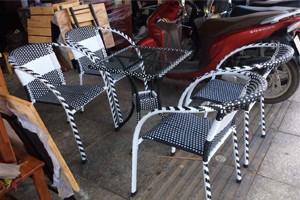 Cung cấp bàn ghế nhựa giả mây