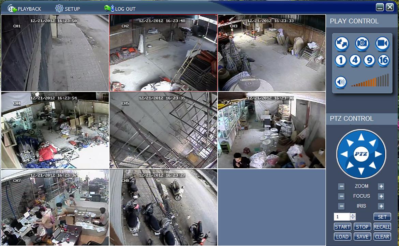 Ảnh thực tế thi công camera giám sát - www.quocbuugroup.com