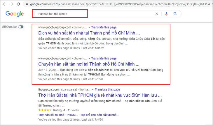 Tham khảo dịch vụ hàn sắt tận nơi tphcm đã lên top Google của đối tác Quốc Bửu Group