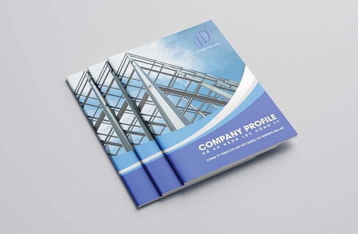 Chuyênthiết kế profile cho công ty mới thành lập uy tín tại tphcm
