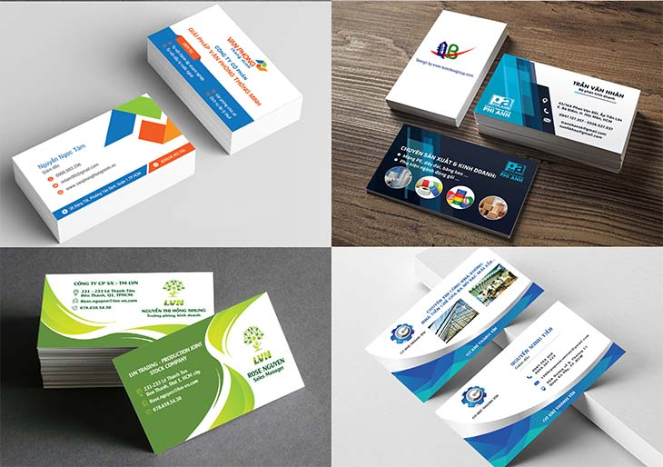 Công ty thiết kế logo, card visit theo phong thủy tài vận khu vực tphcm