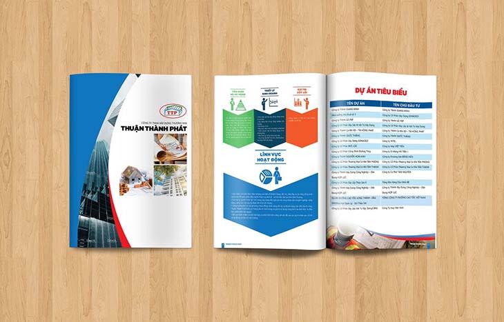 Công ty thiết kế catalogue và profile uy tín tphcm