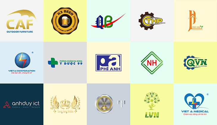 Thiết kế logo ấn tượng theo yêu cầu khách hàng khu vực tphcm