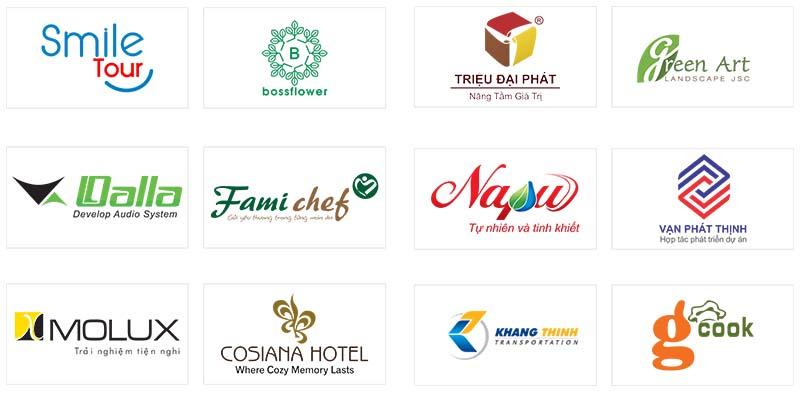 Thiết kế logo sáng tạo theo yêu cầu uy tín tại Việt Nam