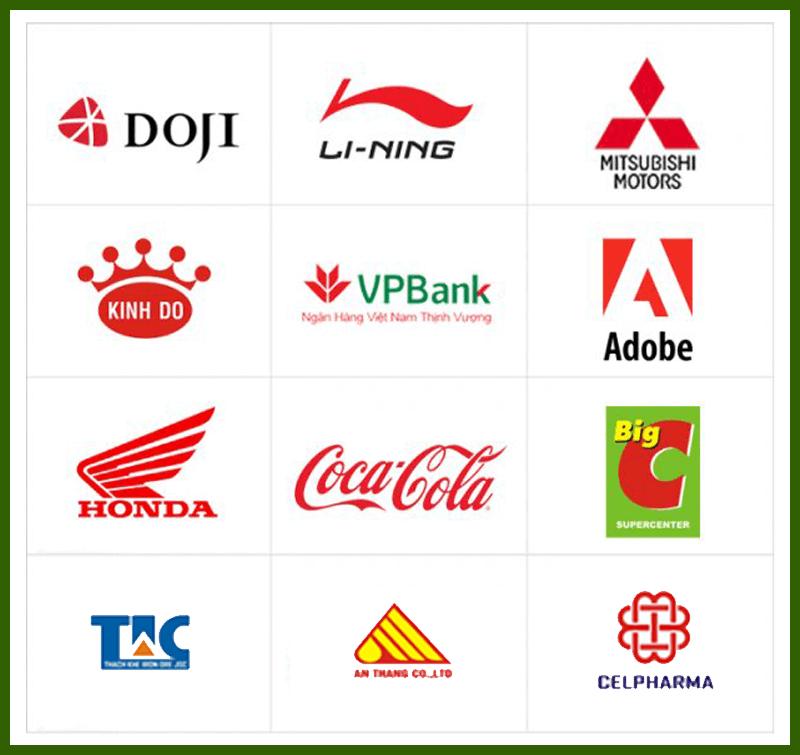 Một số mẫu logo tham khảo 2 - Thiết kế logo TP.HCM