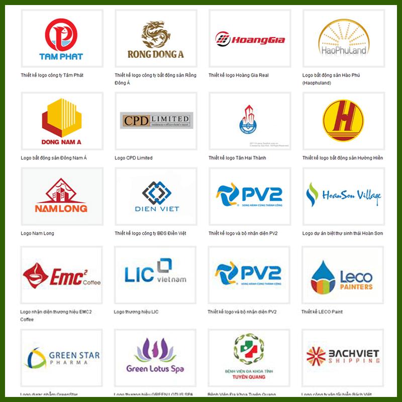Một số mẫu logo tham khảo 4 - Thiết kế logo TP.HCM