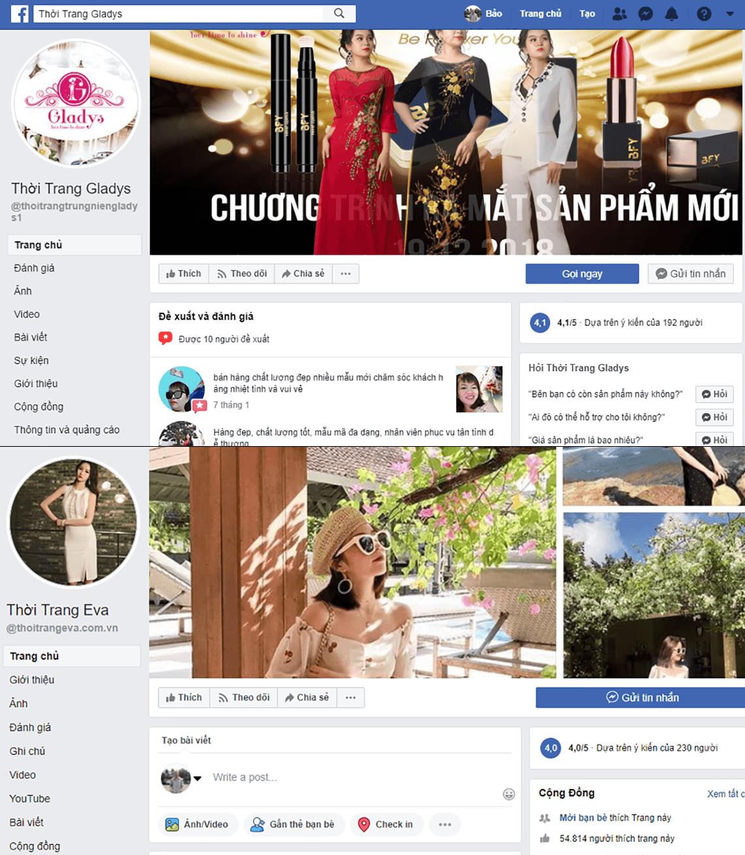 Fanpage facebook Tiki