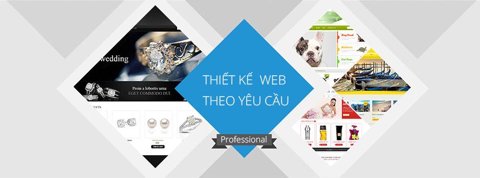 Thiết kế website theo yêu cầu chuẩn seo giá tốt