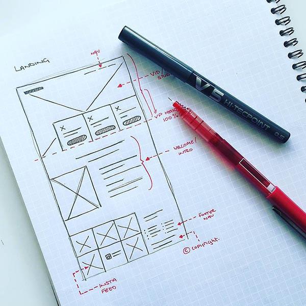 Lên bảng thiết kế sơ bộ