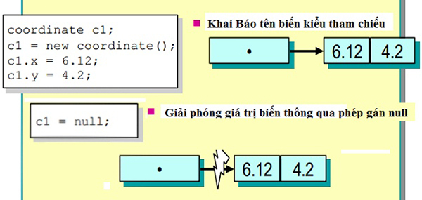 Minh họa biến hằng và kiểu dữ liệu trong php