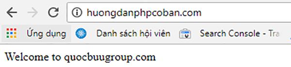 Hoàn thành project php đầu tiên